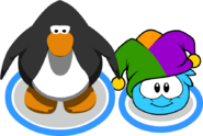 Jester Hat (Puffle Hat) In-Game