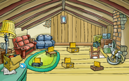 Blue Puffle Pin location