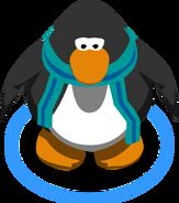 Blue Striped Scarf (3012) in-game