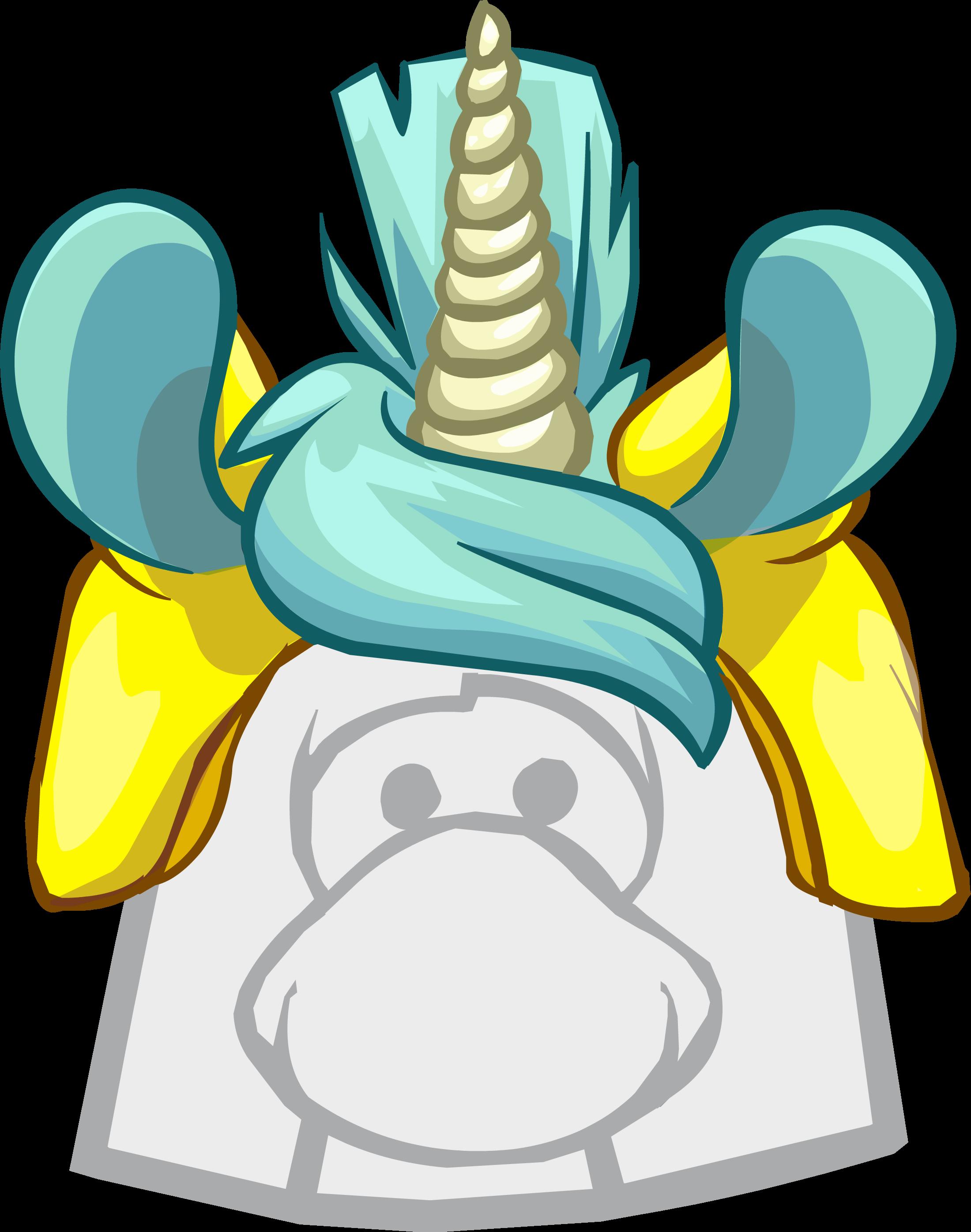 Gorro de Puffle Unicornio