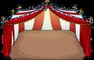 Iglí carpa de circo de la kermés juego