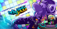 Music Jam 2016 Homepage screen