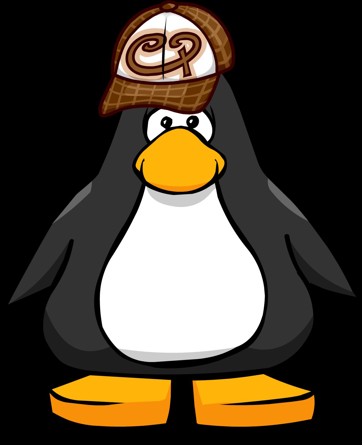 Brown Skater Cap