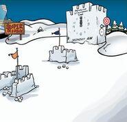 Clock Tower snow concept
