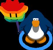 Globo de Puffle Multicolor juego