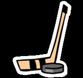 Pin de Palo de Hockey