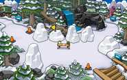 Festival of Snow 2015 construction Forest