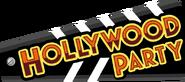 Hollywood Party 2013 Logo Orange