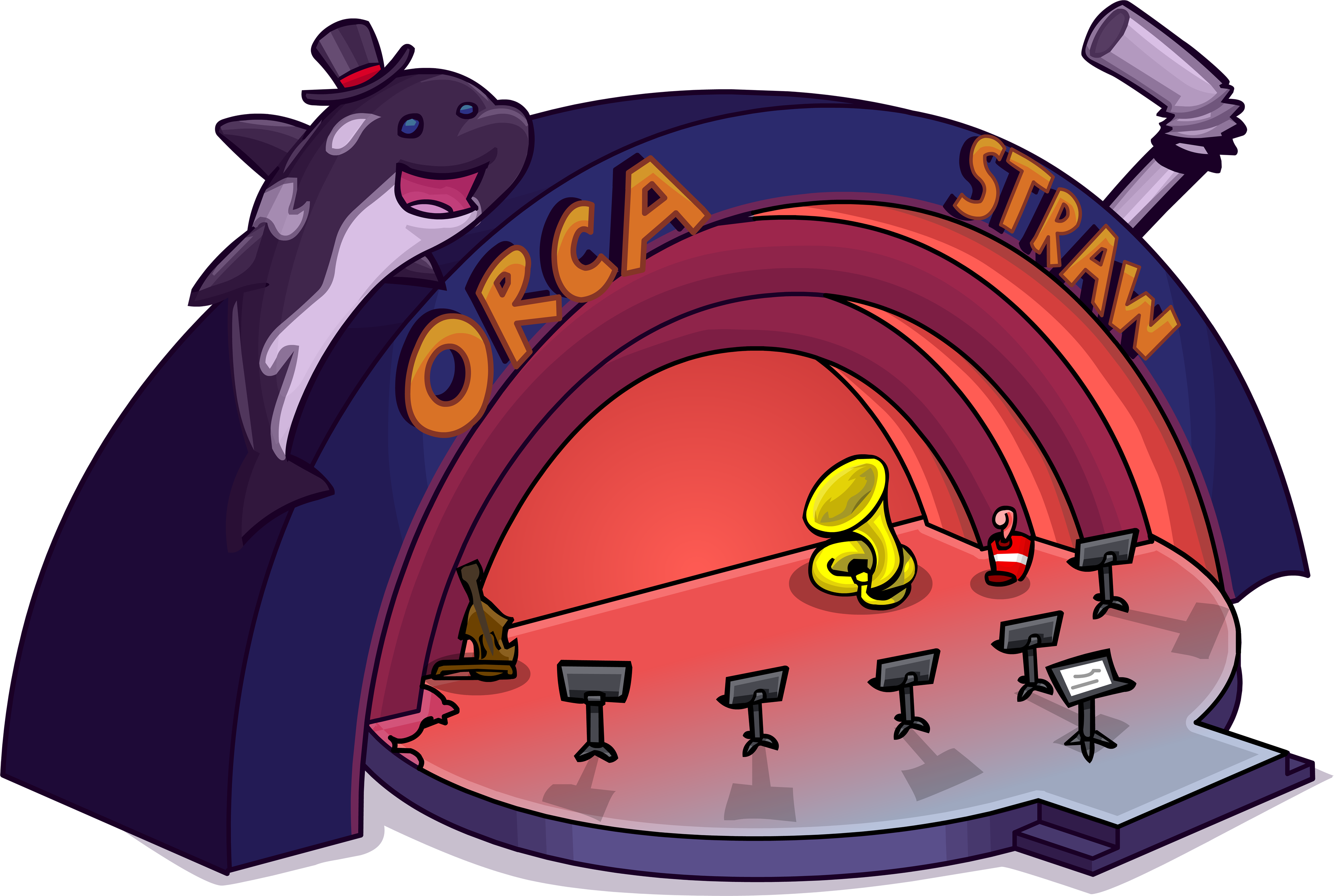 Orca Straw