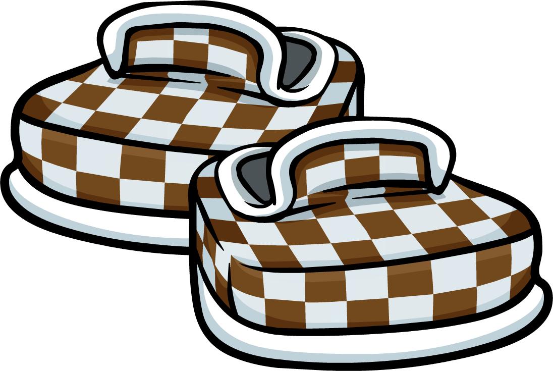 Zapatos a Cuadros Cafés