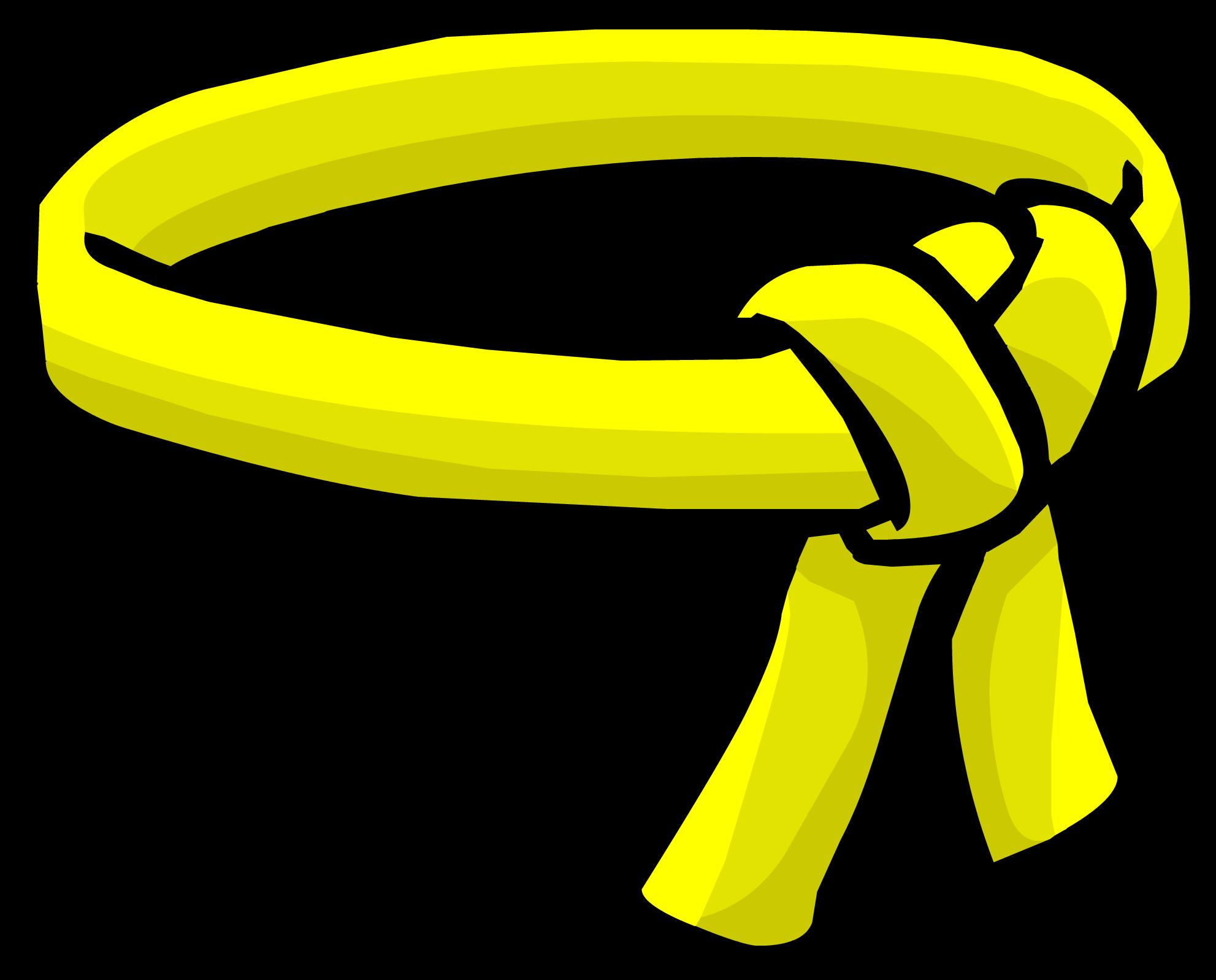Cinturón de Ninja Amarillo