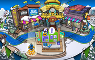 Club Penguin Island Party Town