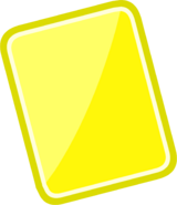 Penguin Cup 2014 Emoticons Yellow Card