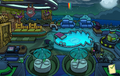 Halloween Party 2015 Puffle Hotel Roof