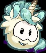 Unicorn Puffle artwork