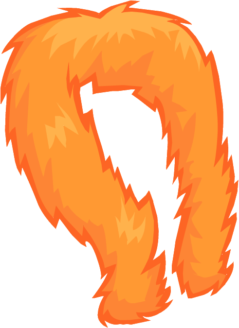 Boa de Plumas Naranja