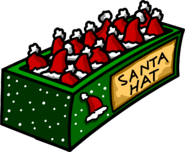 Christmas Party 2007 Santa Hat box
