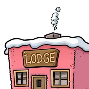 PuffleParty2011SkiLodgeExterior.png