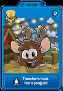 Reindeer Puffle Player Card