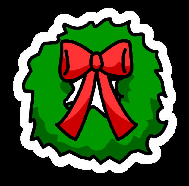 Pin de Corona de Navidad