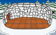 Deluxe Snow Igloo with location and flooring