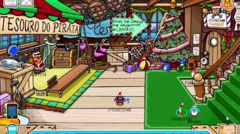 Club Penguin - Festa de Natal 2010