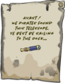 Island Adventure Party 2011 Telescope Pin note