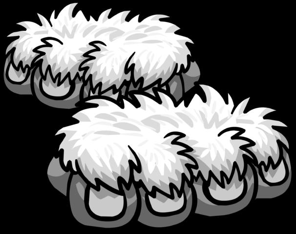 Patas de Mono de Nieve