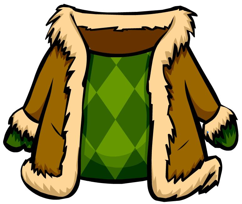 Abrigo de Gamuza Verde