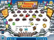 PENGUIN EATING