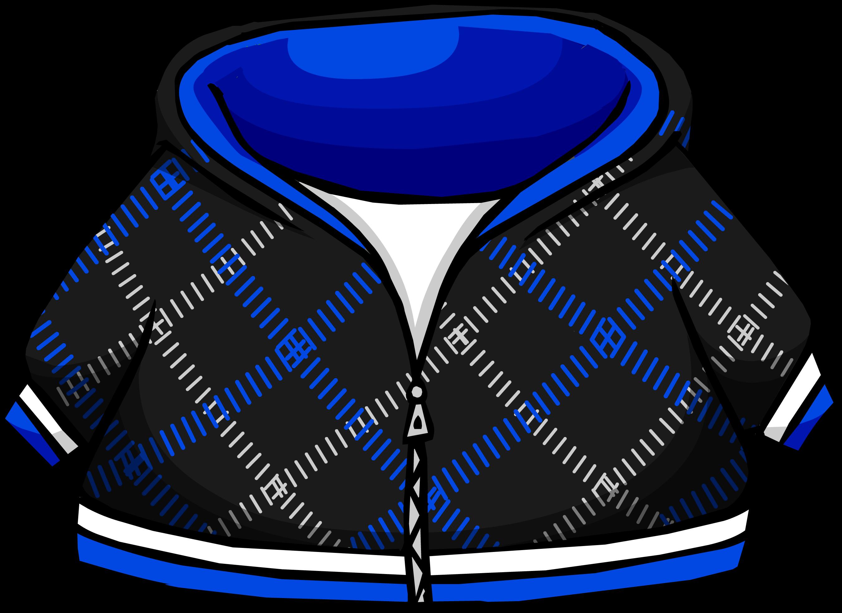 Cangurito a Cuadros Azul y Negro