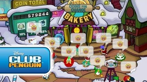 Coins For Change Starts December 19! Official Club Penguin
