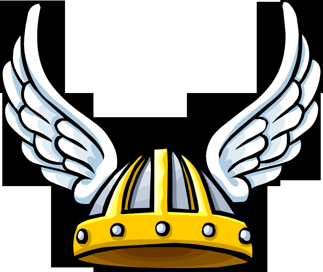Casco de Vikingo con Alas