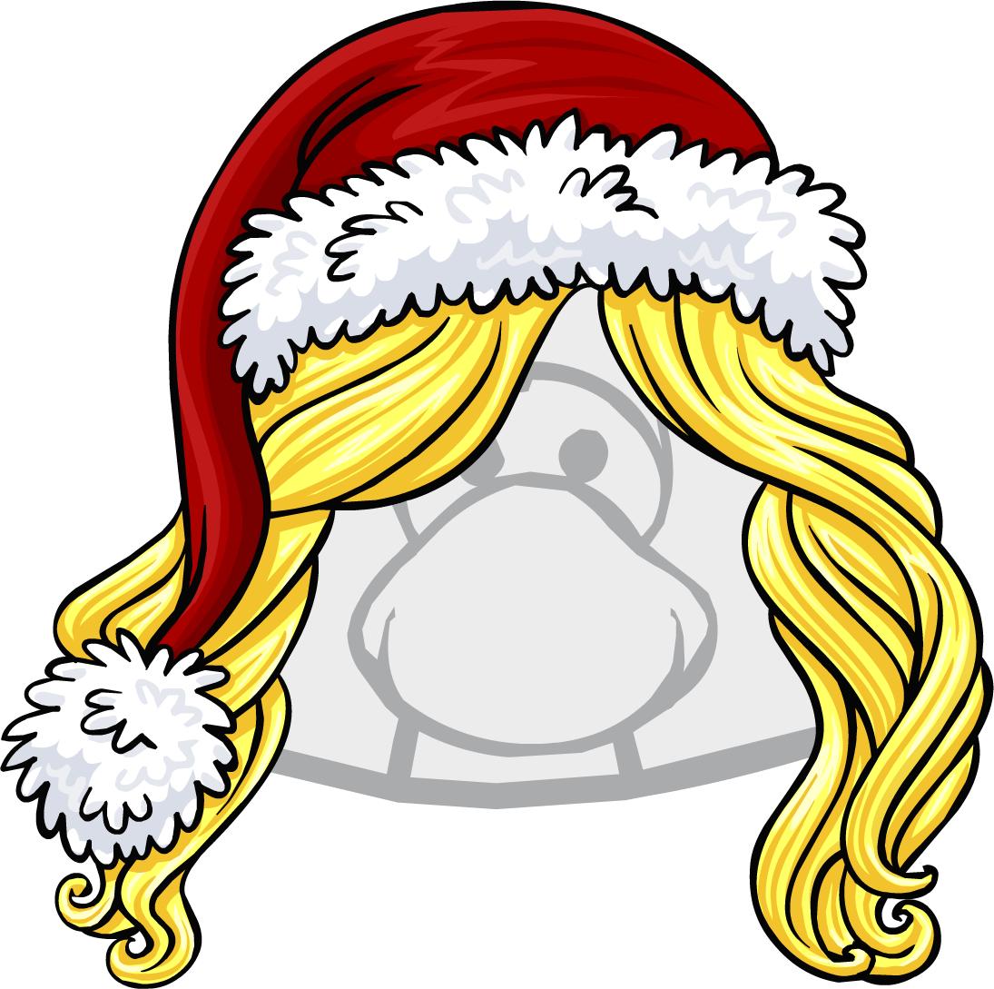 Gorro de Pingüina Santa Claus