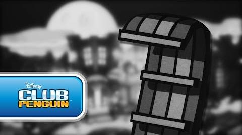 Club Penguin Hotel of the Living Sled