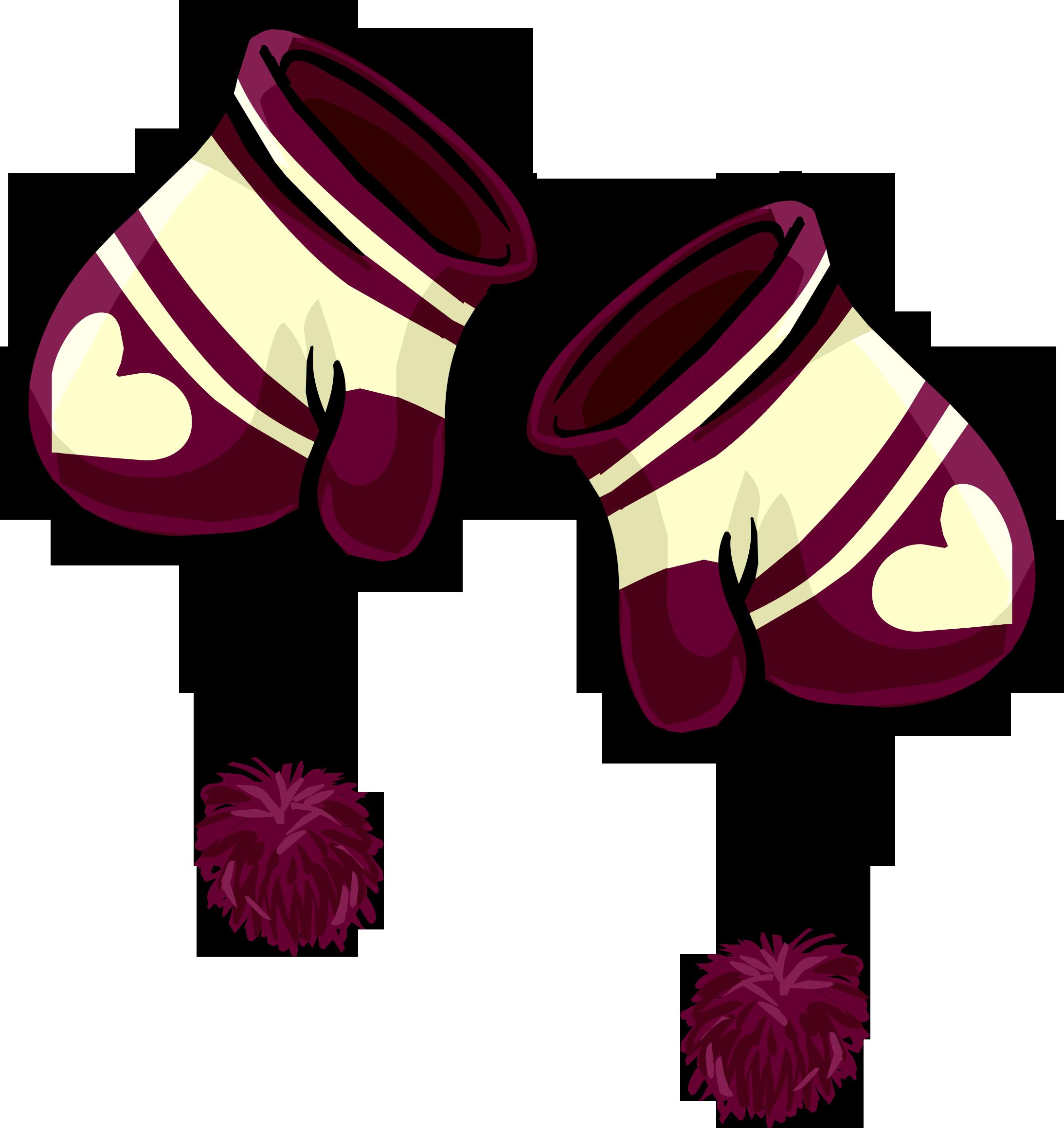 Mitones con Corazones