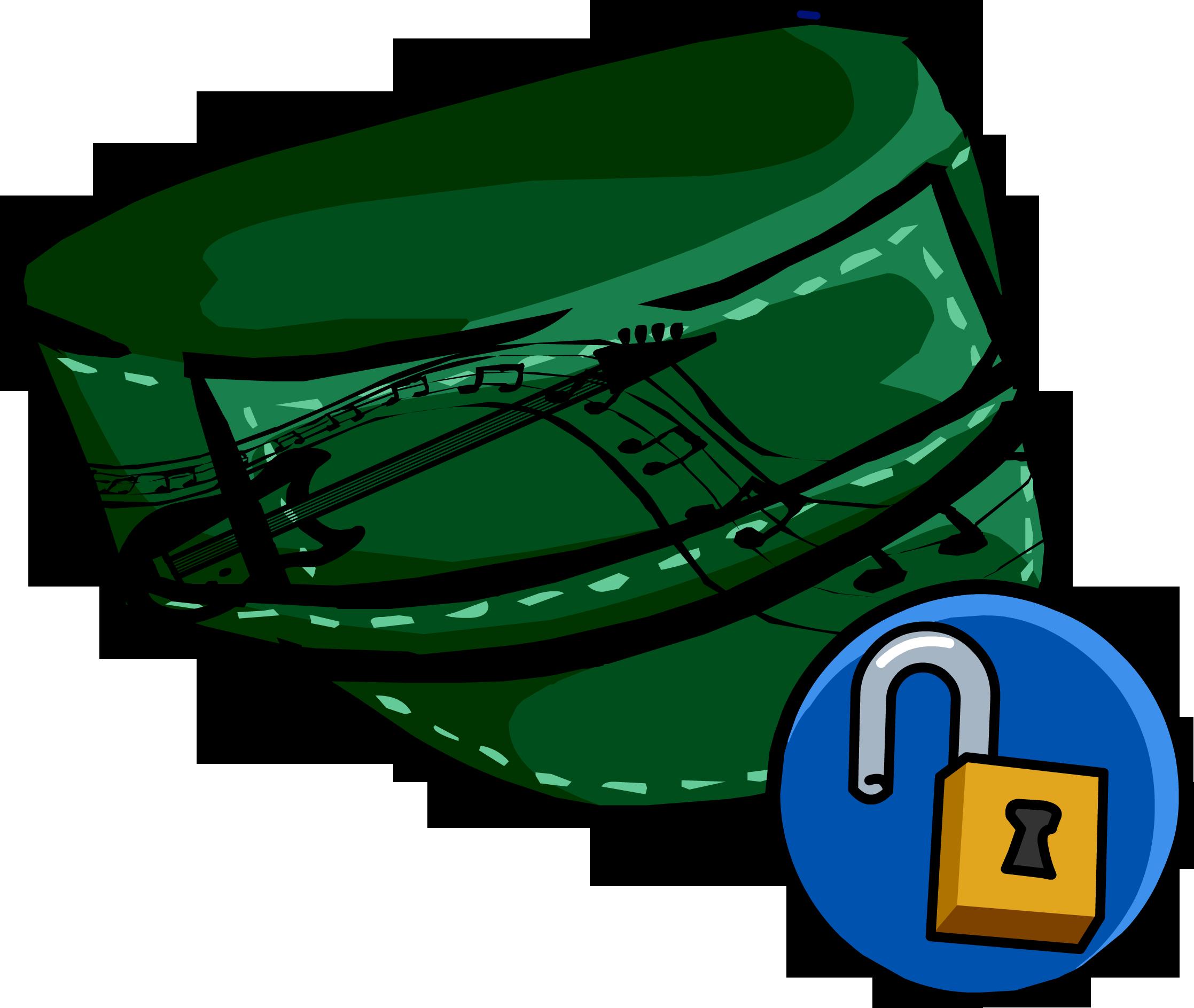 Sombrero al Costado Verde