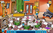 April Fools Party 2007 Pizza Parlor
