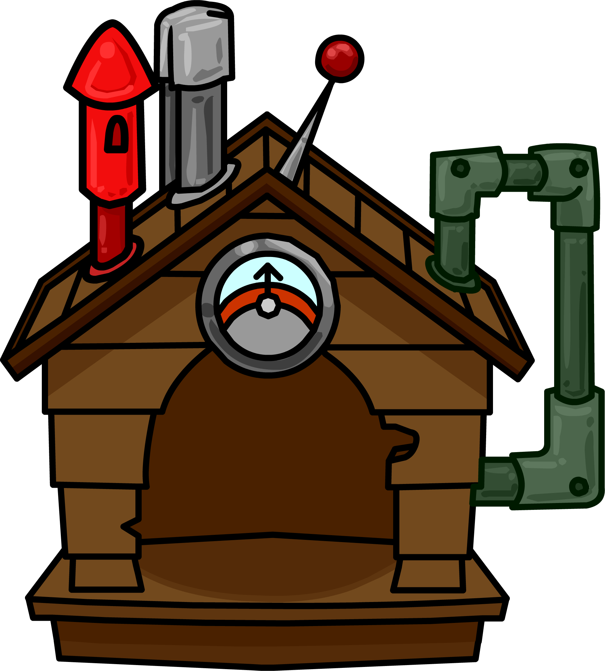 Brown Puffle House (ID 665)