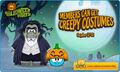 Halloween Costume Exit Screen