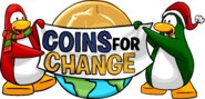 Coins for Change 2007 logo