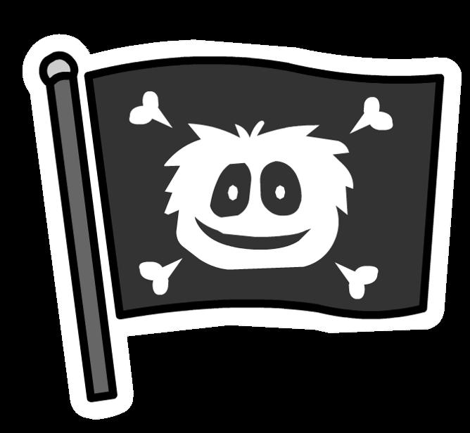 Pin de Bandera Pirata