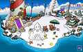 Puffle Party 2013 Beach