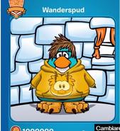 Wanderspud en my penguin