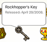 Rockhopper's Key Pin in Stampbook