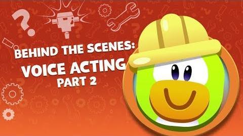 Behind the Scenes The Voice of Gary, Herbert, AND Shellbeard Disney Club Penguin Island