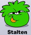 Greenpufflepet