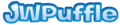 JWPengie font puffle styled