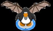 Brown Bat Wings in-game