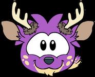 Puffle Ciervo Violeta sprites